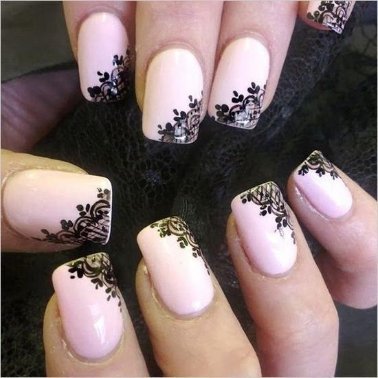 Trending - 100 Delicate Wedding Nail Designs