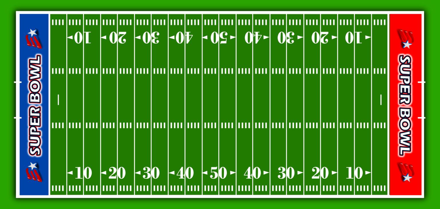 Football Field Clipart American Football Stadium Clipartix For Blank Football Field Template American Football Football Stadiums Football Field