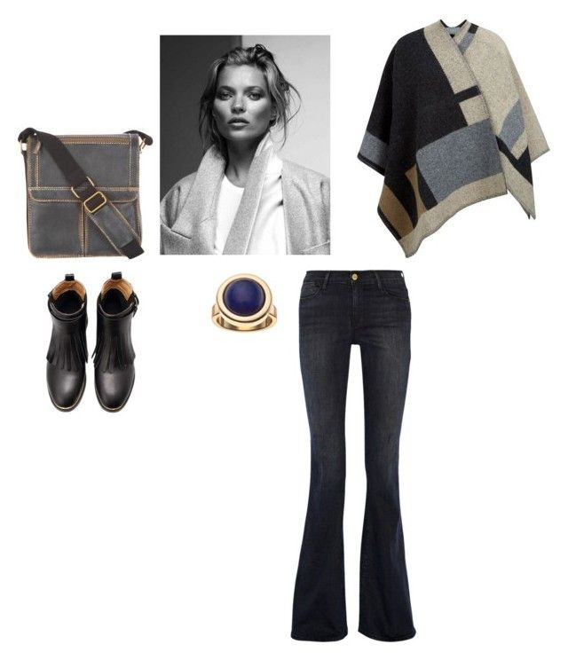 """October..."" by lalynany ❤ liked on Polyvore featuring Frame Denim, Burberry and Apt. 9"