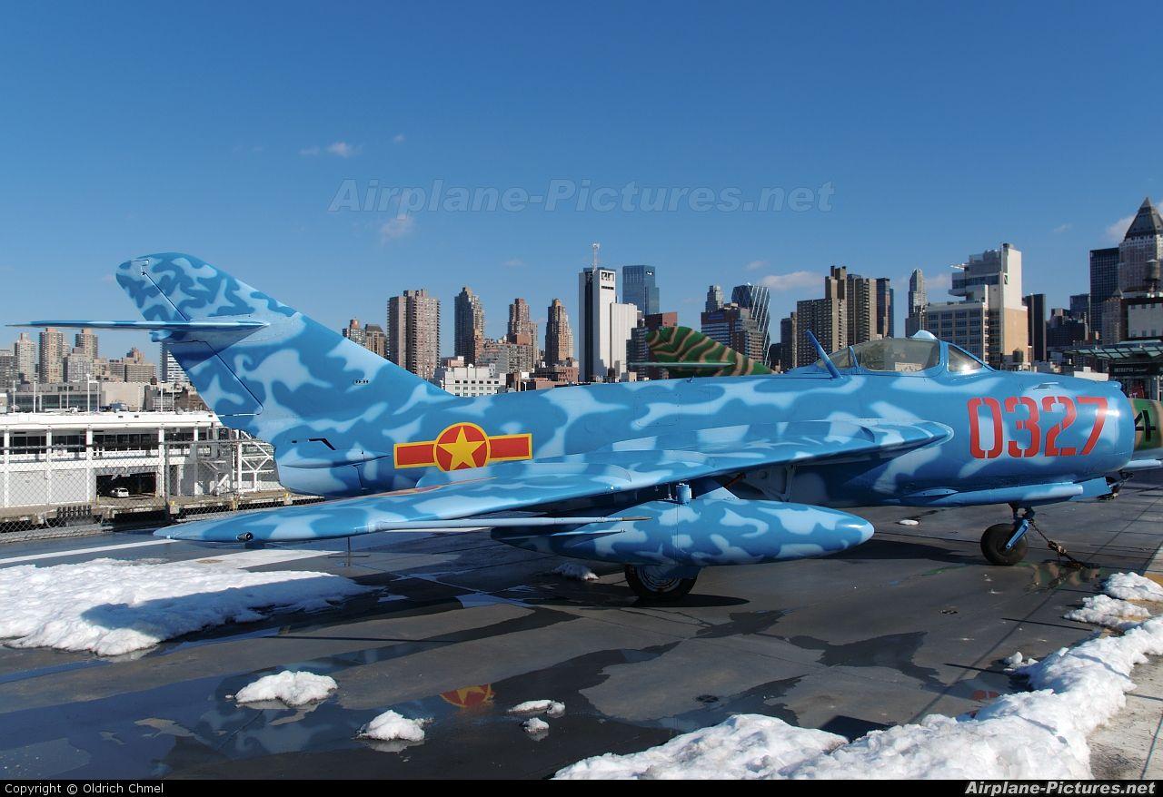 Vietnam Air Force 0327 aircraft at New York Intrepid