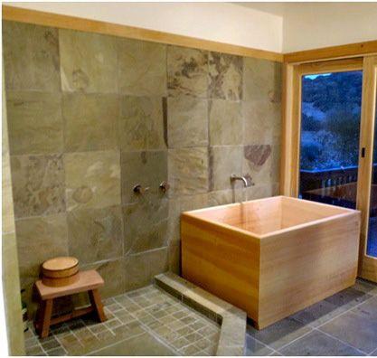 Zen Bathroom Remodels japanskt träbadkar | badrum | pinterest | bath room, bath and