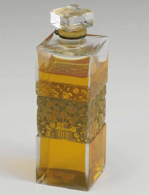 Lalique Perfume Bottle 5 Fleurs