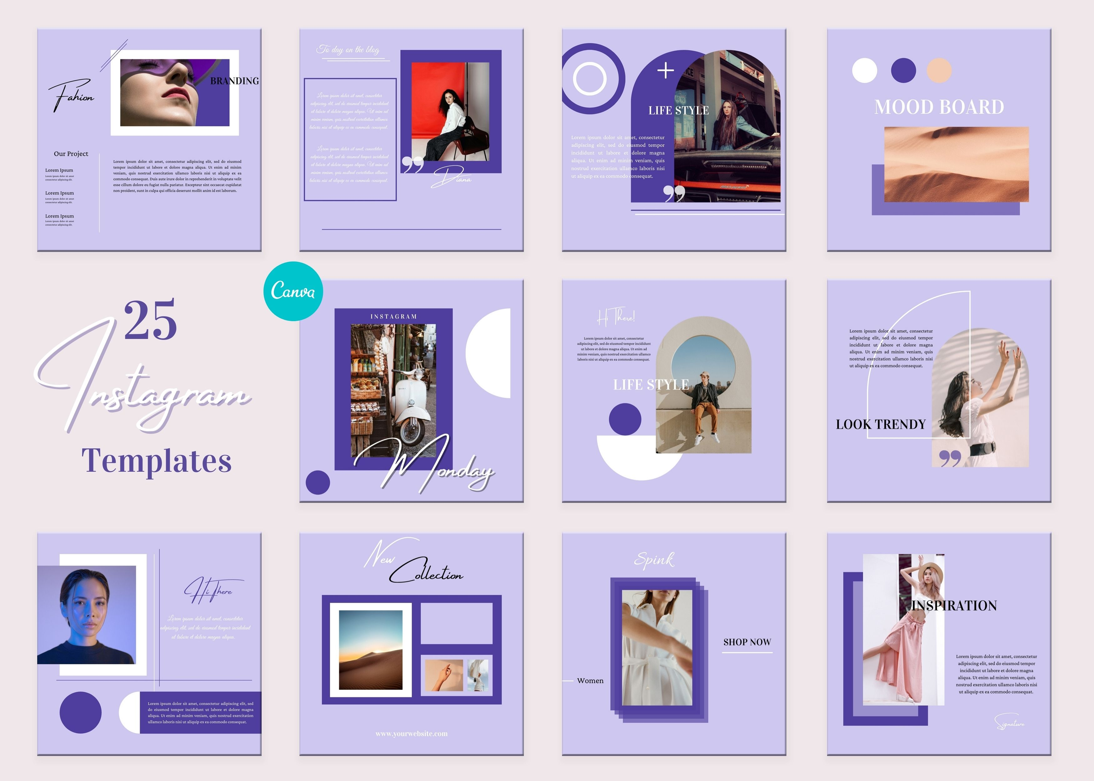 Small Business Templates | Instagram Posts | Brand