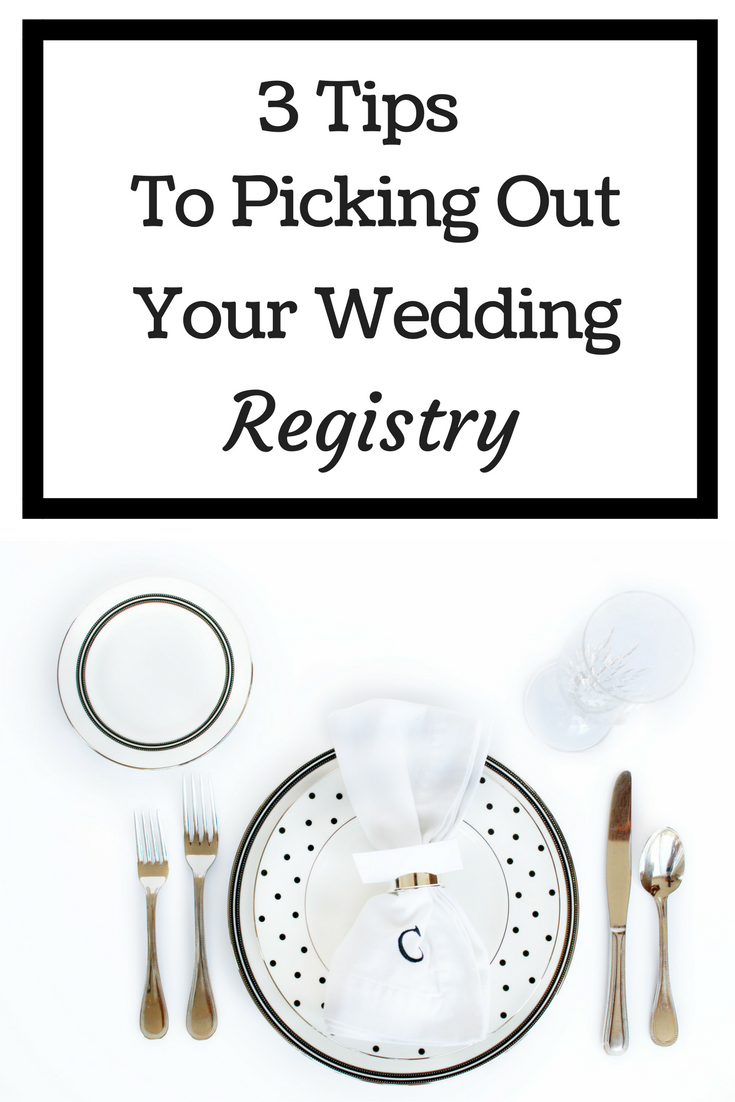 3 tips to picking your wedding registry weddings and wedding for Things to put on a wedding registry