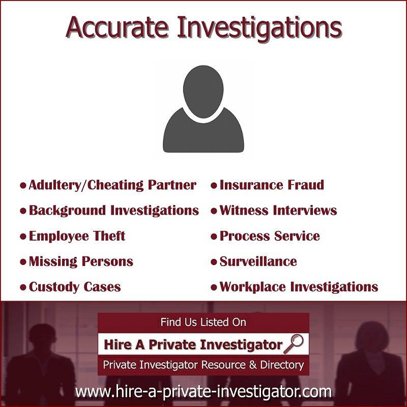 Accurate Investigations Top Private Investigator In Edgewater