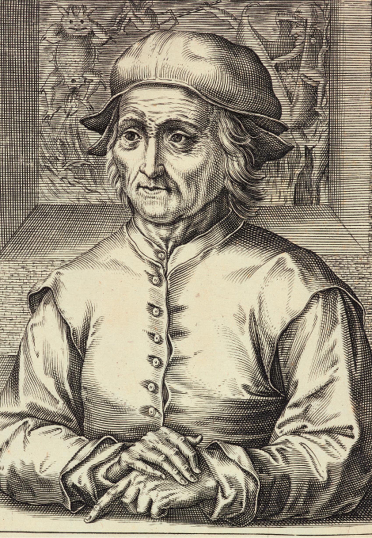 ヘンドリック・ホンディウス1世(版刻)「ヒエロニムス・ボスの肖像 ...