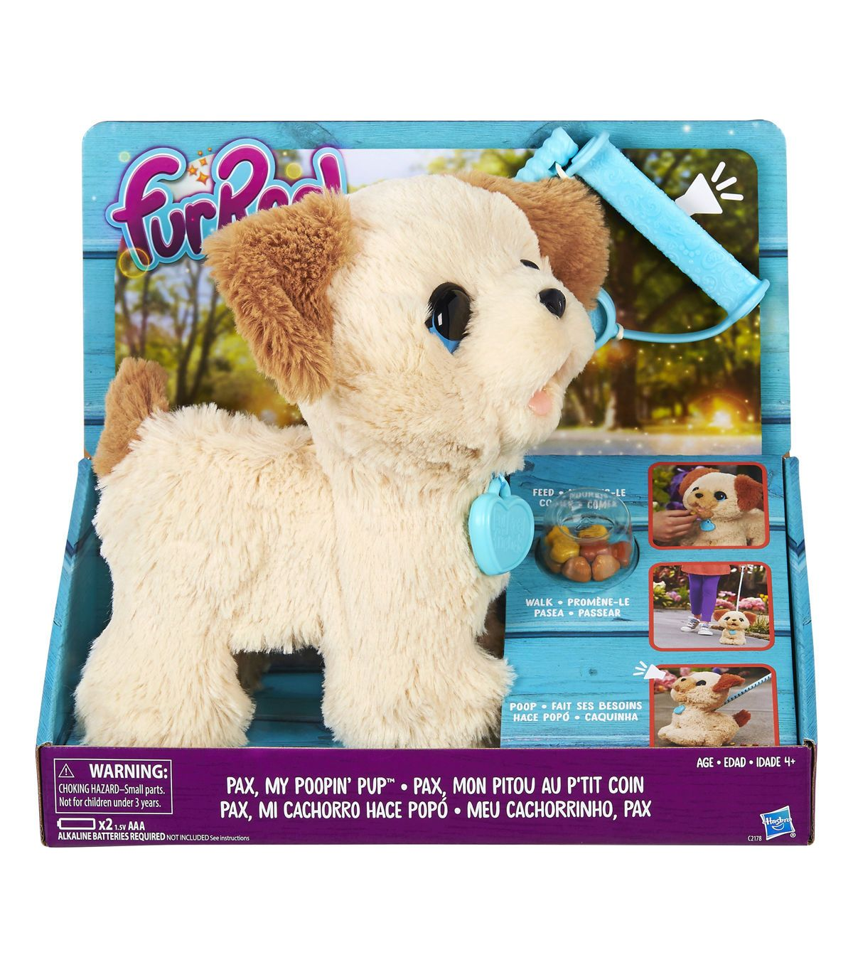 Furreal Pax My Poopin Pup Fur Real Friends Pup Toys