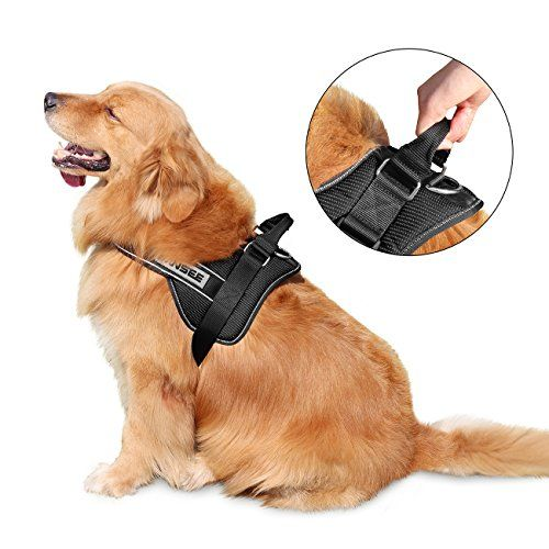Dog Harness Winsee Nopull Dog Harness Reflective Adjustable