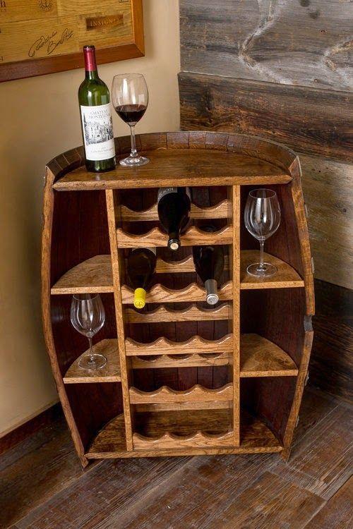 12 Ideas para decorar con barricas de vino | barriles | Pinterest ...