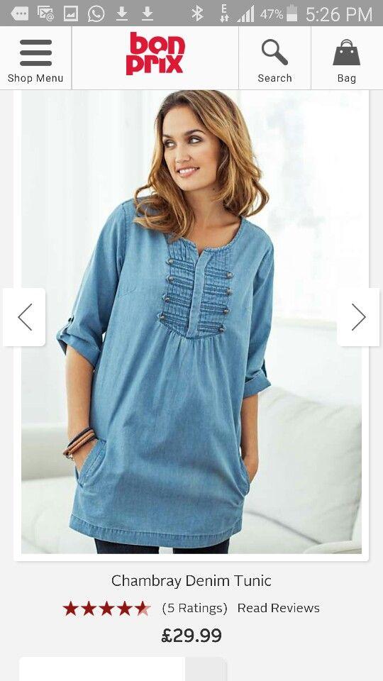 e8b5db21a46 Bonprix | Spring & Summer Clothes | Tunic tops, Summer outfits, Women