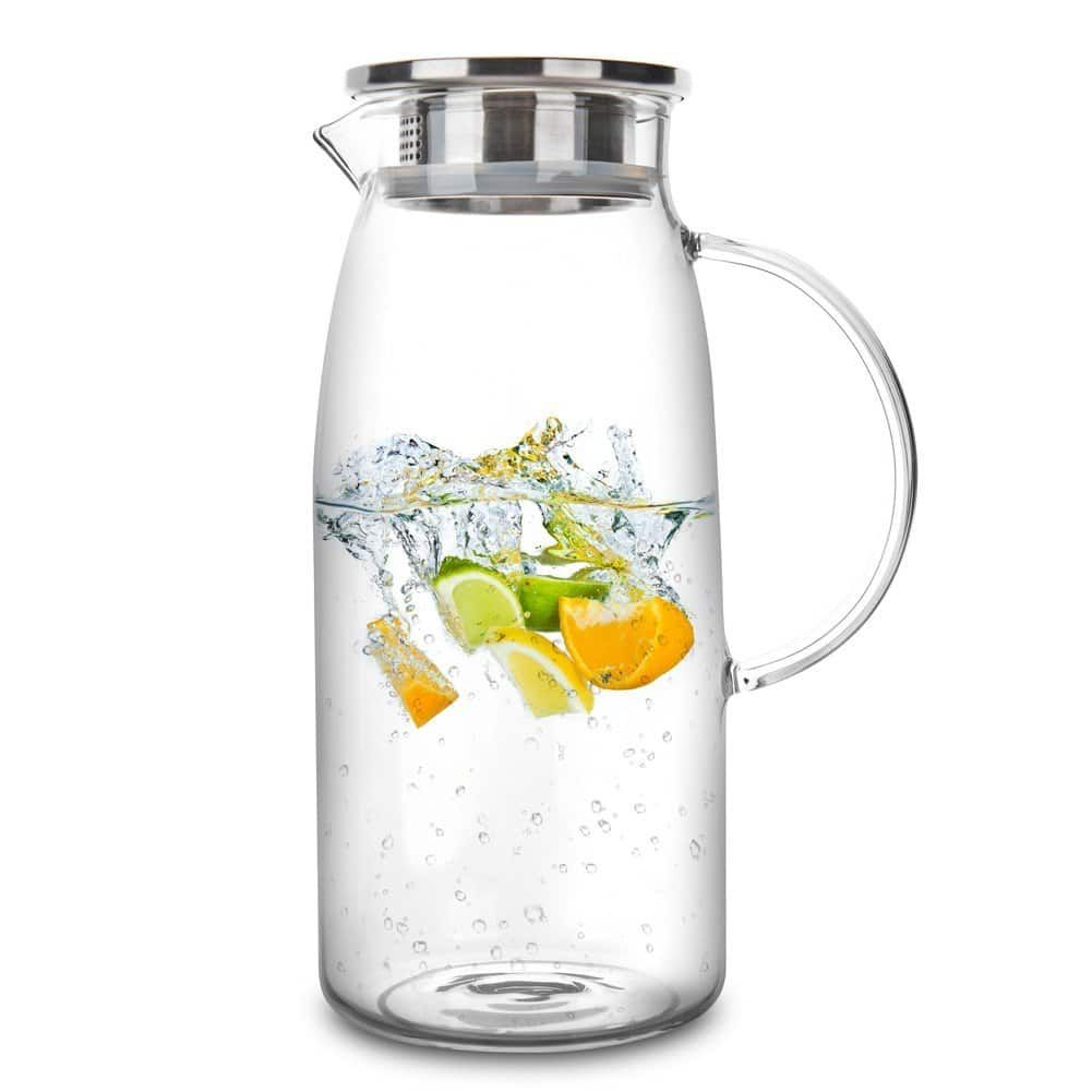 Top 10 Best Glass Water Pitchers In 2020 Tea Pitcher Water