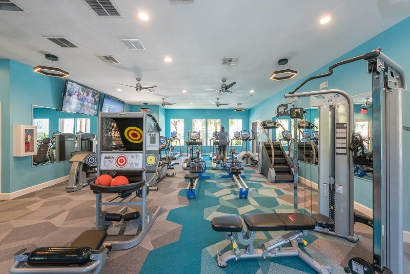 Workout At The Enclave S Newly Remodeled Gym Enclave Apartments Enclave Gainesville