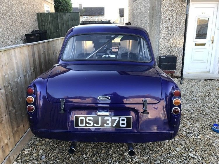 Ford Popular 100e 4 8 V8 Hotrod Show Car Modified Swap Mot Tax