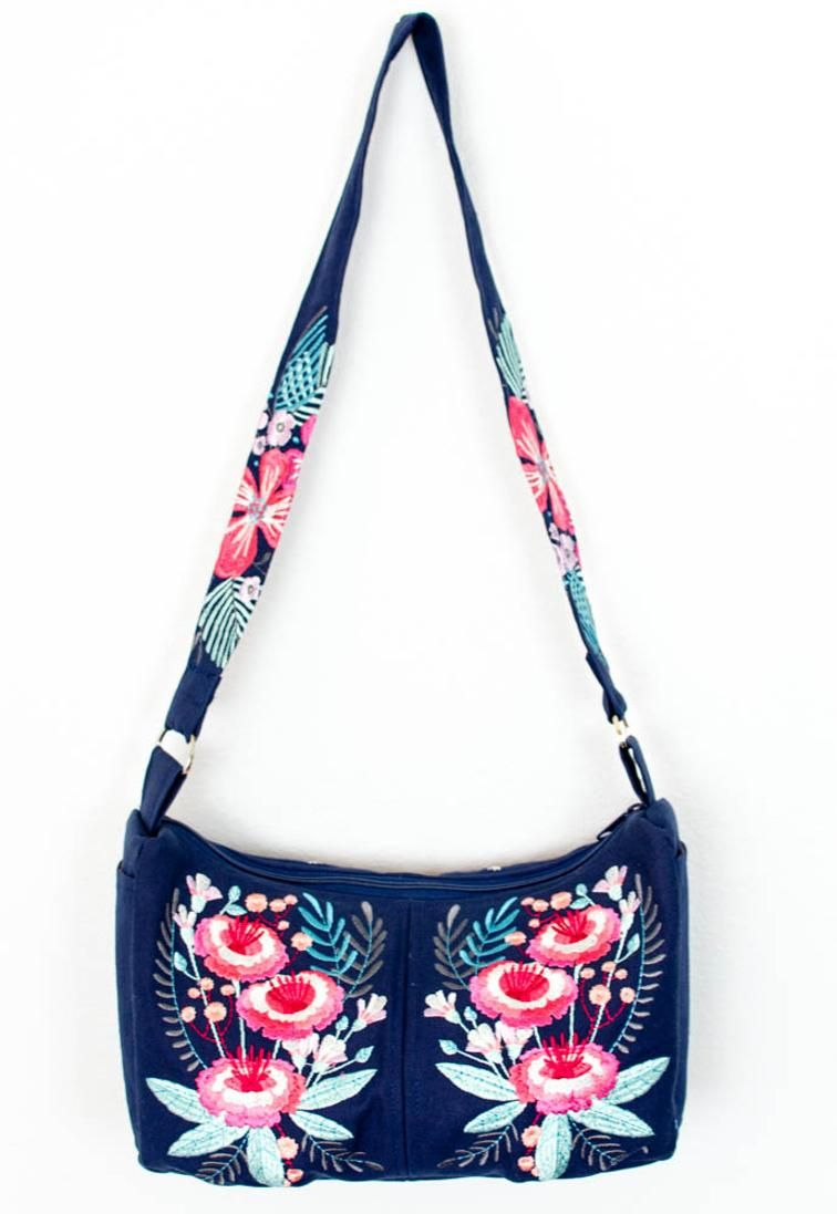 Hobo Bag Free Sewing Pattern | sewing | Pinterest