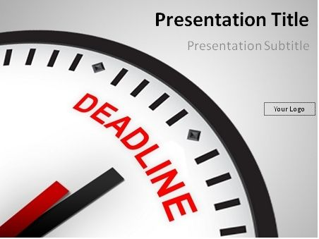 Free deadline time powerpoint template this powerpoint template free deadline time powerpoint template this powerpoint template will perfectly fit presentations on time management toneelgroepblik Image collections