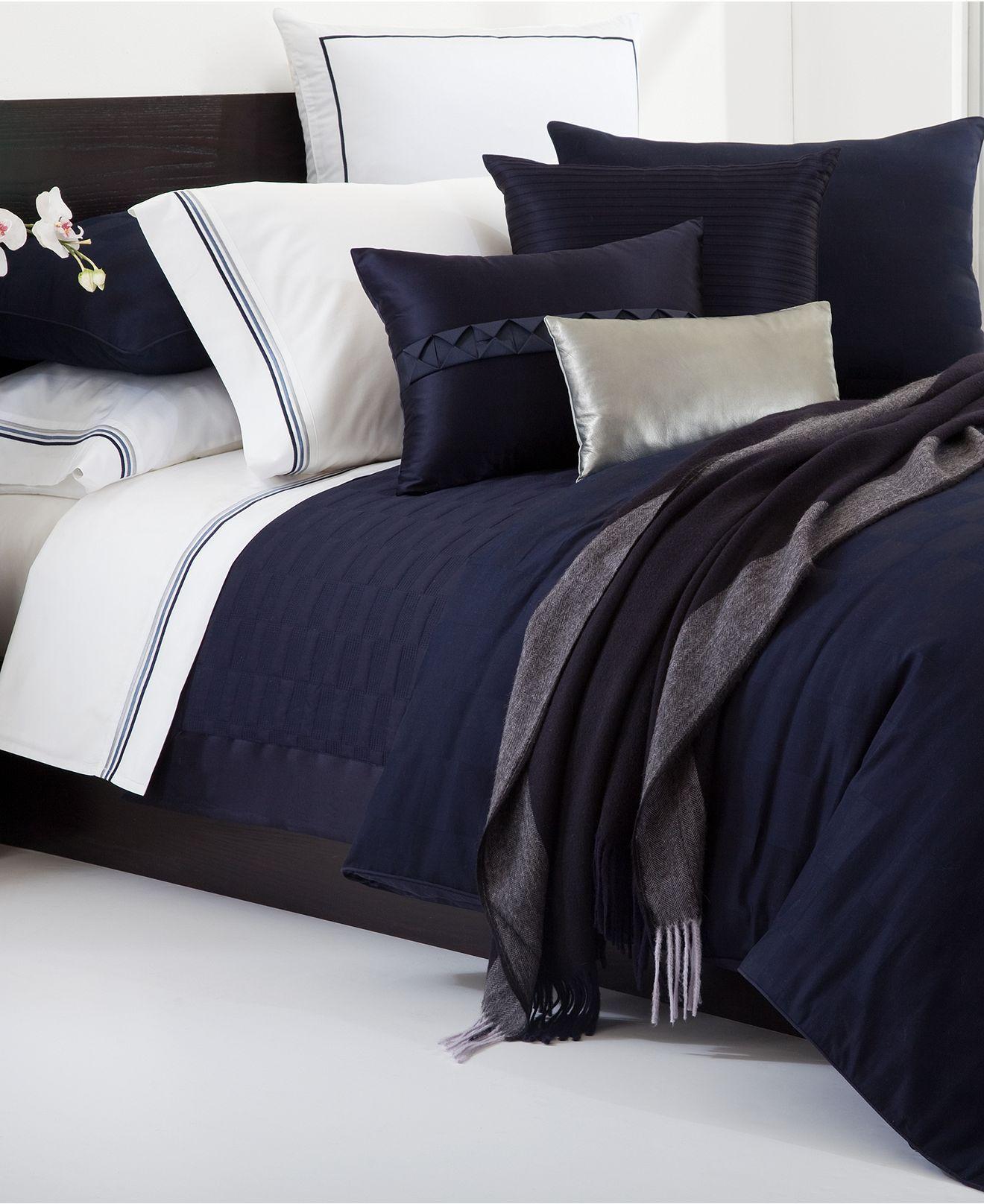 Hugo Boss Bedding Windsor Navy
