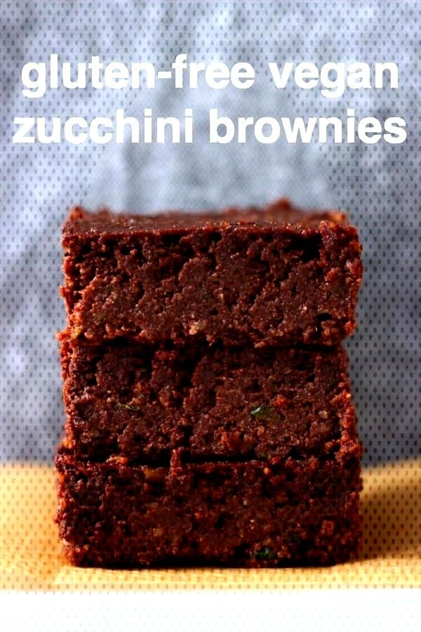 These Vegan Zucchini (Courgette) Brownies are rich and fudgy, super moist and secretly healthy. The