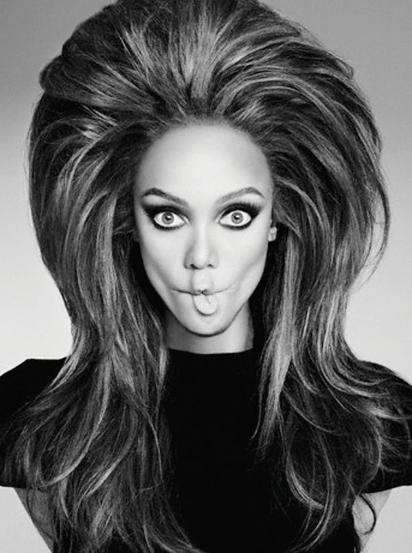 Tyra Banks  I think Herb would have done it this way were he