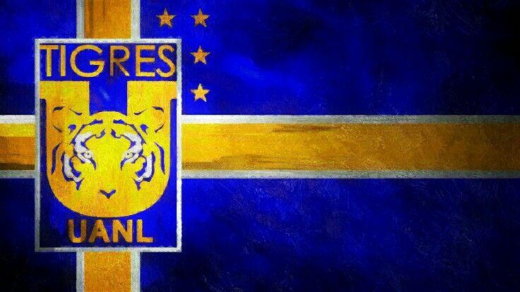 Tigres Flag Wallpaper 2016 Tigres Uanl Y Escudo De Tigres