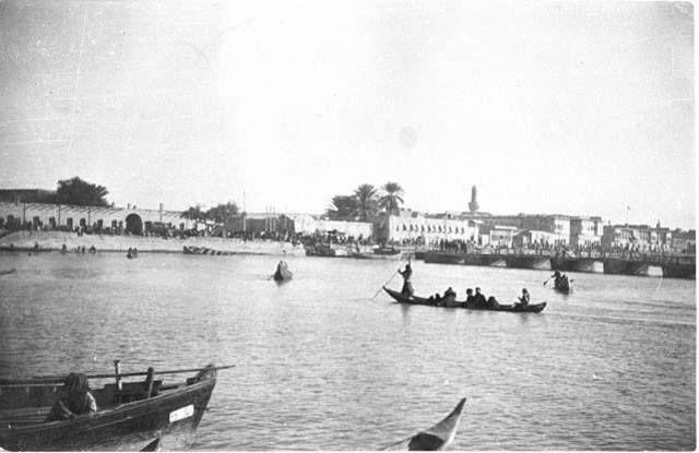 Al-Amarah - Iraq, January 1917 Photographer: Gertrude Bell ___  العمارة - العراق - كانون الثاني 1917 عدسة غيرترود بيل