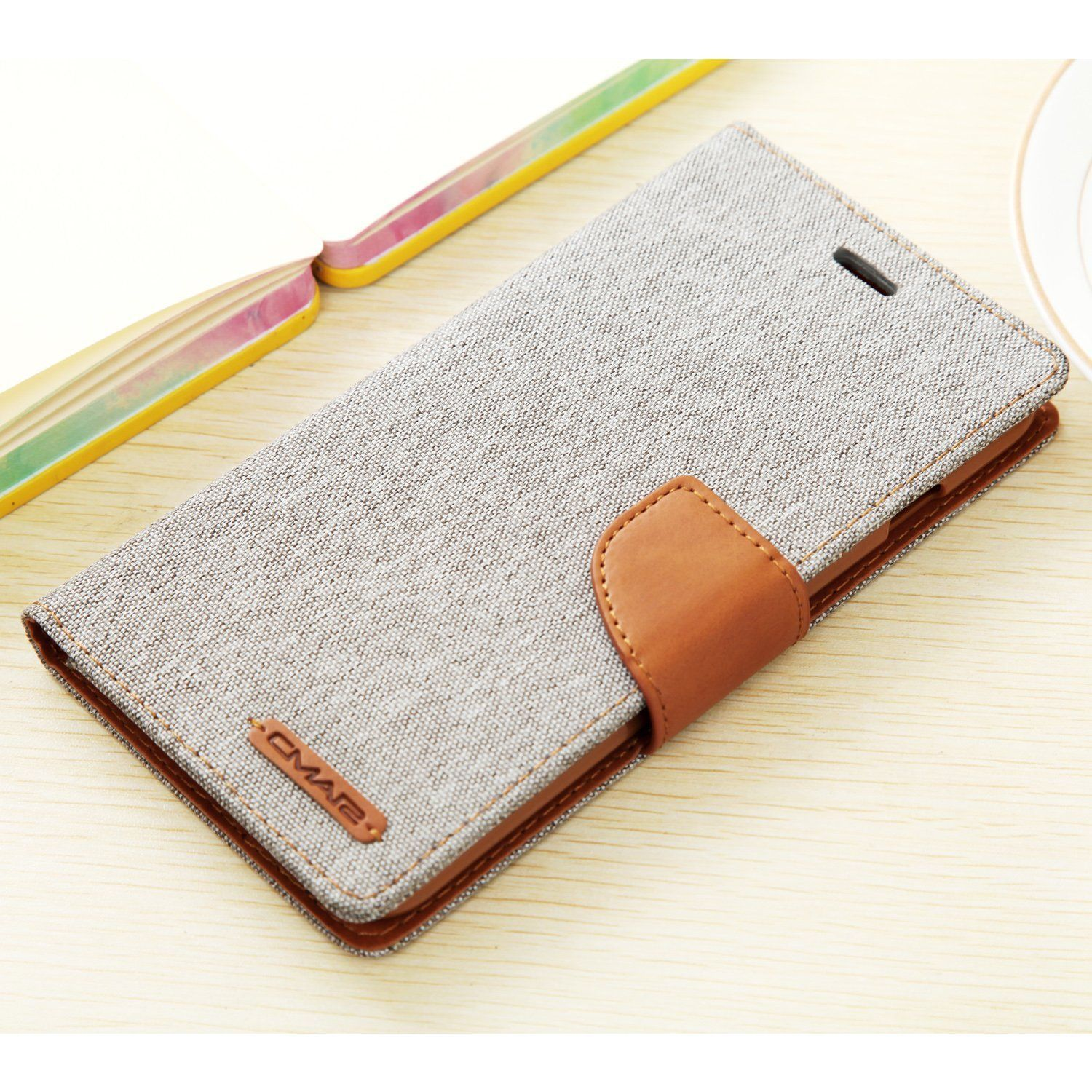 iPhone 7Plus Case iphone 8 Plus Leather Case canvas Wallet Slim Fit ...