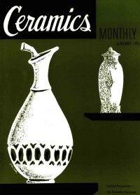 Ceramics Monthly January 1953 Ceramics Monthly Ceramics Monthly Ceramics Ceramic Art