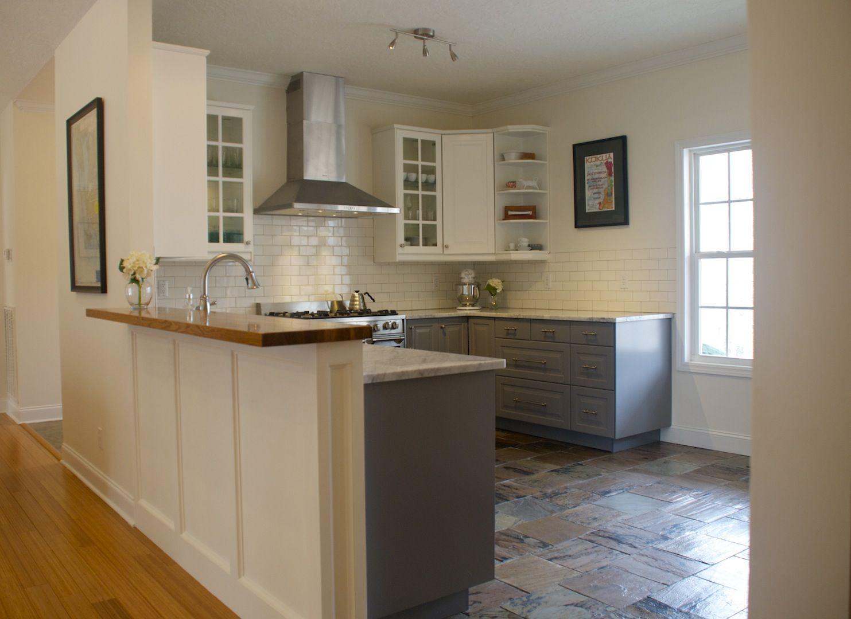 Ikea lidingo gray lower cabinets with lidingo white upper for Countertop liquidators