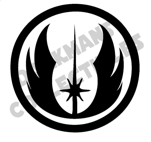 Jedi Order Star Wars Jedi Symbol Star Wars Sticker Car Window Vinyl Decal Sticker Star Wars Stickers Star Wars Star Wars Inspired