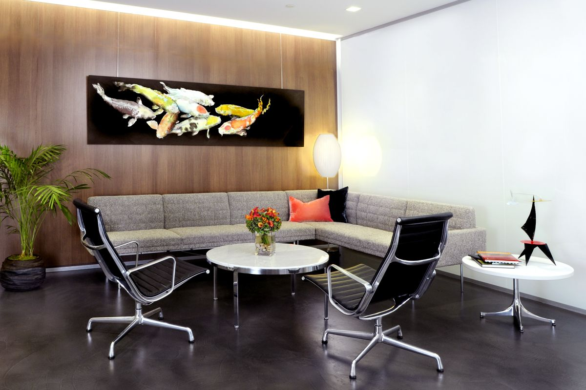 Herman Miller Tuxedo Sofa Sofaworks Cuddle Chair Eames Aluminum Group Lounge Chairs Are The