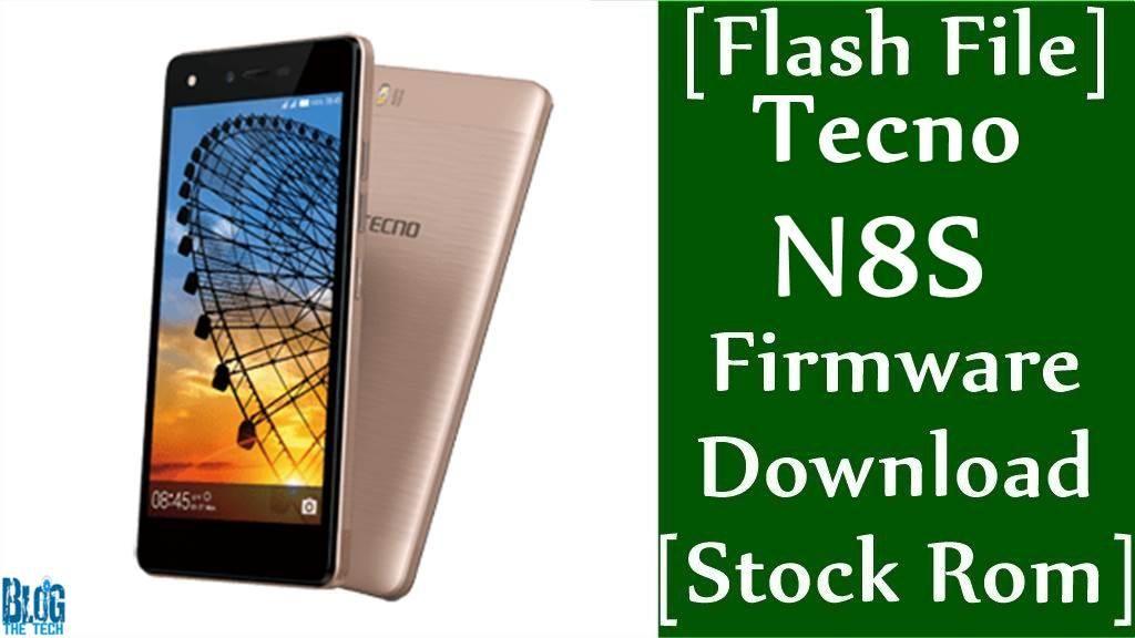 Flash File Tecno N8S Firmware Download Stock Rom