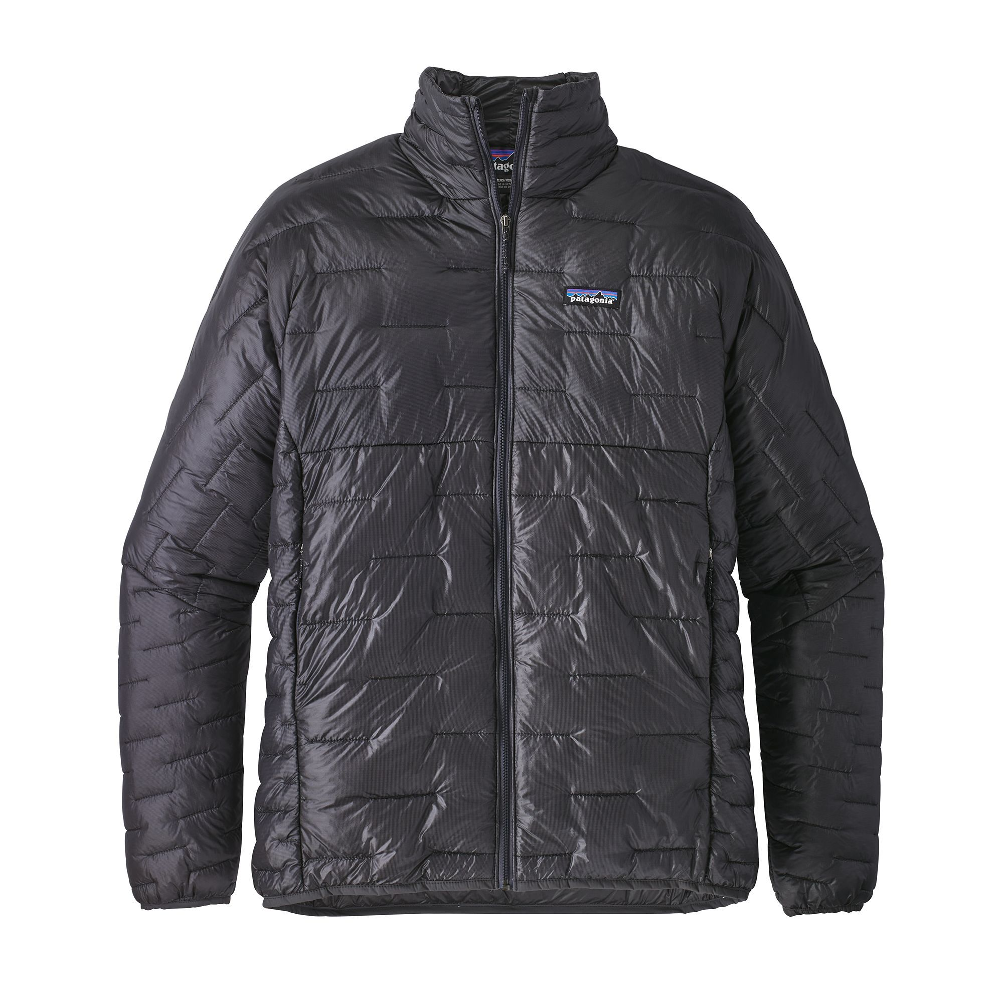 Patagonia Men S Micro Puff Jacket In Forge Grey Is Slim Enough To Fit Under Your Uniqlo Black Smart Co Insulated Jackets Mens Jackets Patagonia Mens