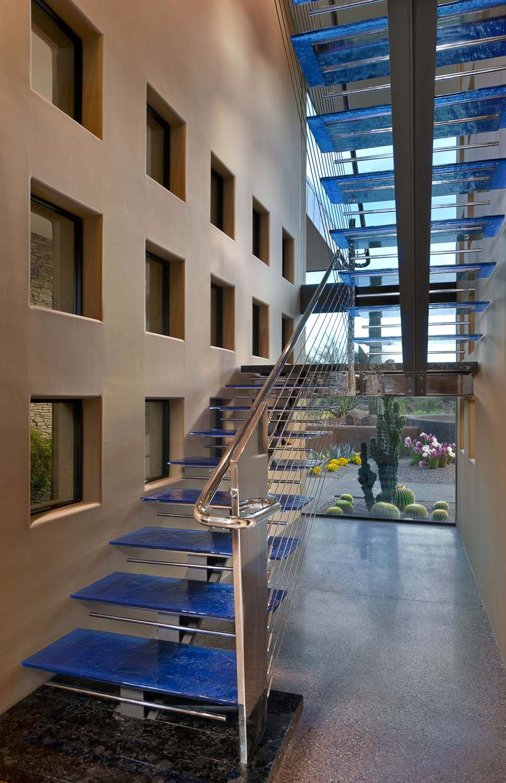 Glossy Interior1 Award Winning Modern Luxury Home in Arizona: The Sefcovic Residence