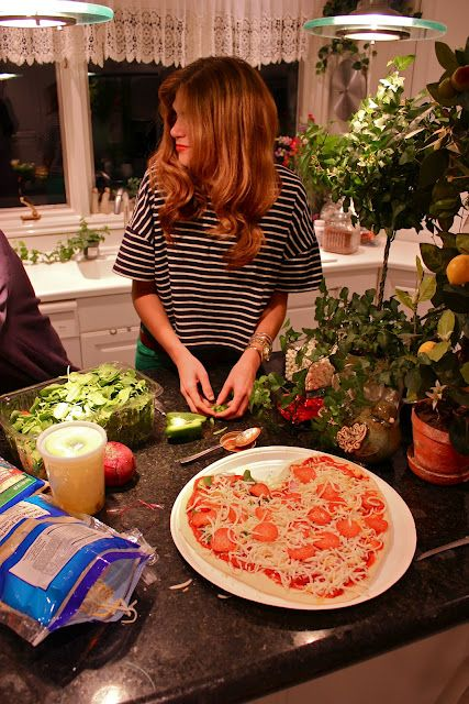 Valentines Day : Make heart shaped pizzas with friends.
