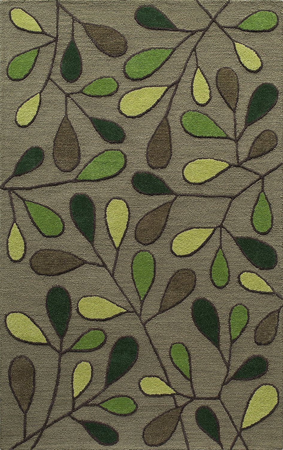 Momeni Rugs Dunesdun 9grn5080 Dunes Collection Hand Tufted 100 Wool Transitional Area Rug