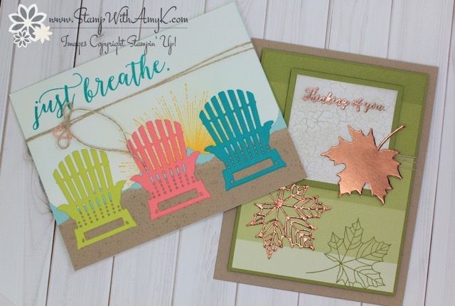 Stampin' Up! Colorful Seasons for the Stamp To Share International Design Team Blog Hop – Stamp With Amy K