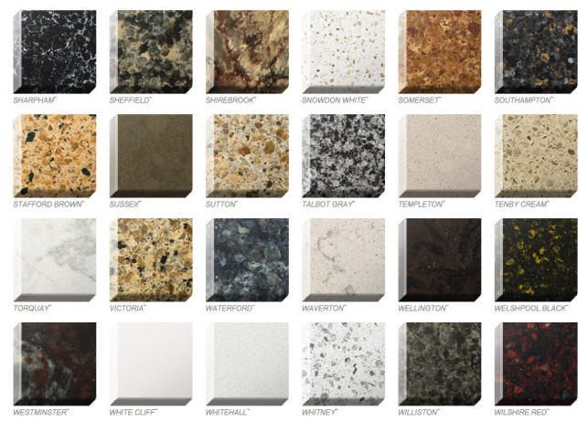 Quartz Countertop Colors Natural Countertops