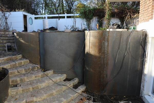 Gartengestaltung Mit Corten Stahl Einfassungen Hochbeete Raised