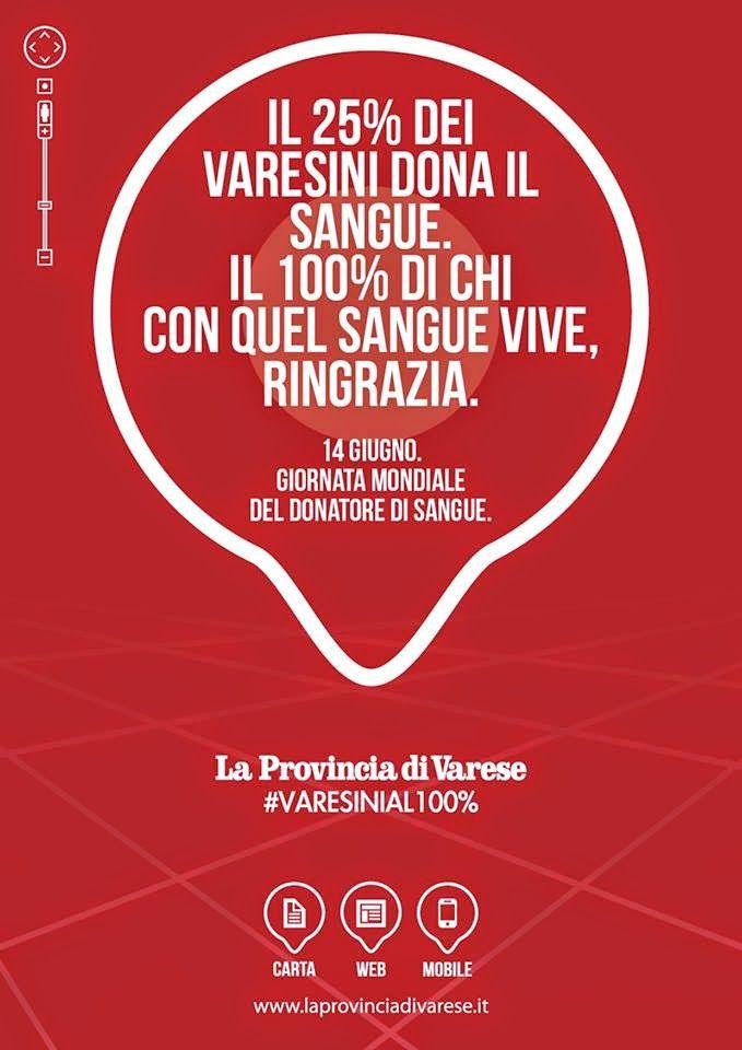 """Avis Comunale Varese: quotidiano """" La Provincia di Varese"""""""