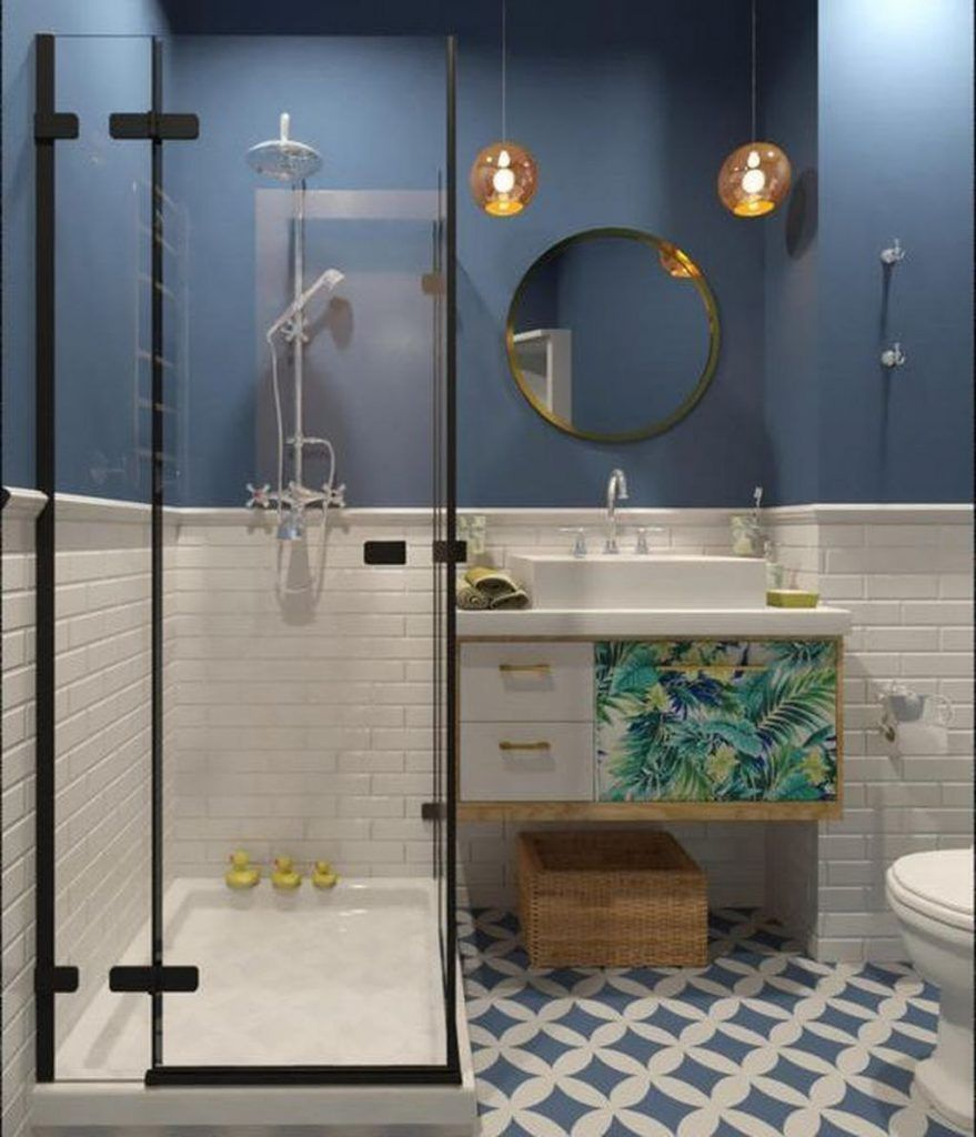 50 Beeindruckende Ideen Fur Die Dusche Im Bad Diy Und Deko Kleines Bad Renovierungen Badezimmer Innenausstattung Dusche Umgestalten