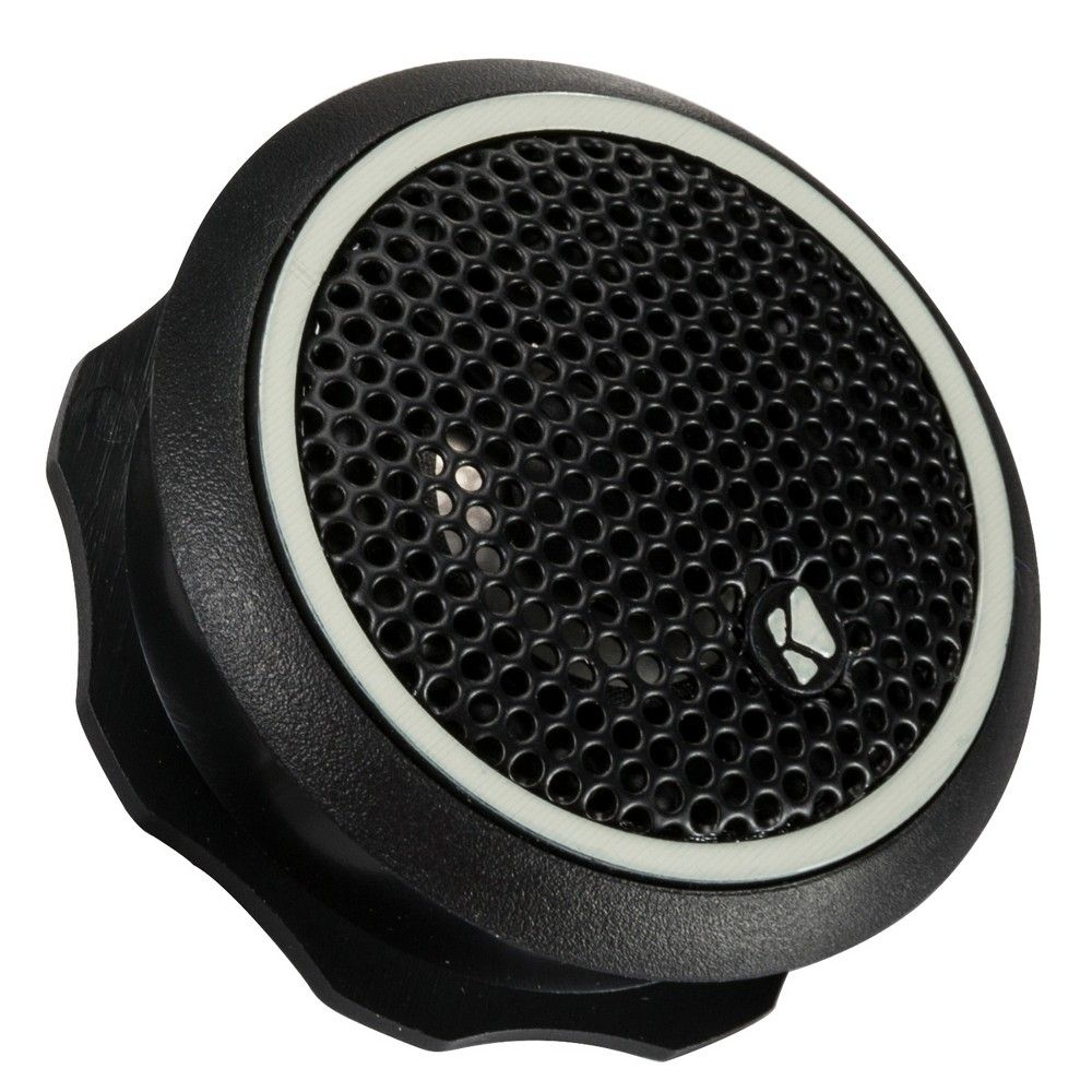 Kicker 46CST204 3/4 Tweeters w/ Crossovers (Pair), Black #componentspeakers