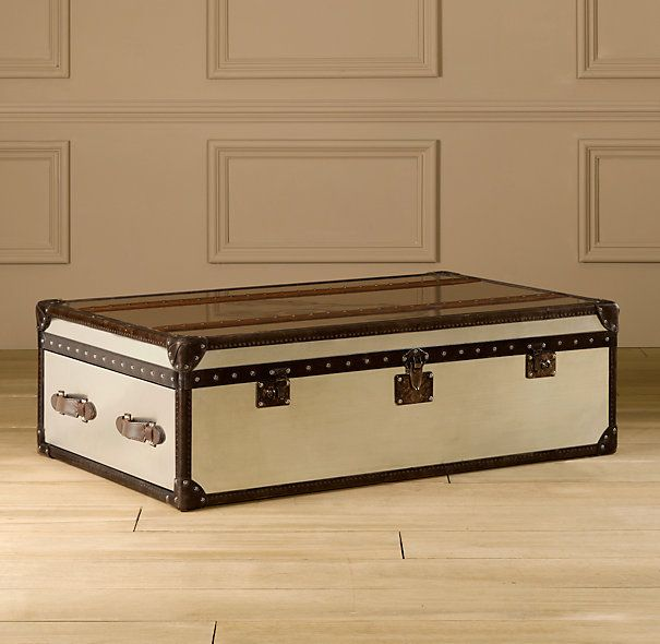 Mayfair Steamer Trunk Large Coffee Table My Type Of Home