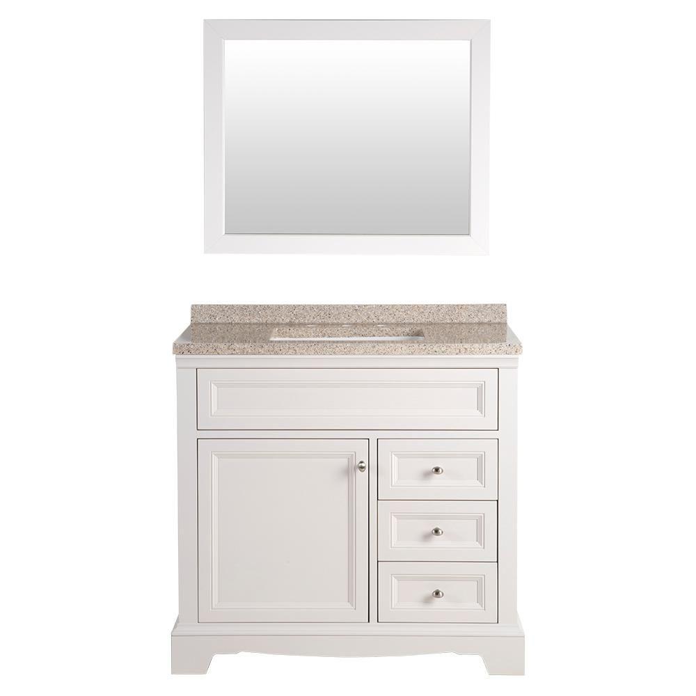 Home Decorators Collection Windsor Park 37.56 in. W Vanity ...