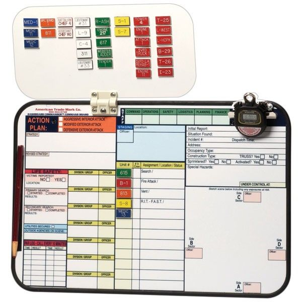 Dashboard Commander Incident Command System  Incident Command