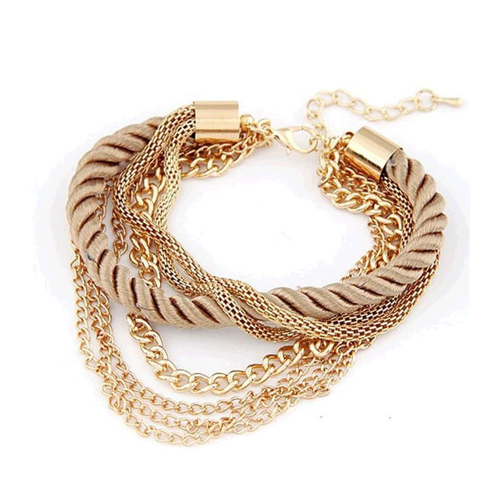 New fashion rope chain bracelet decoration for girl of six colors