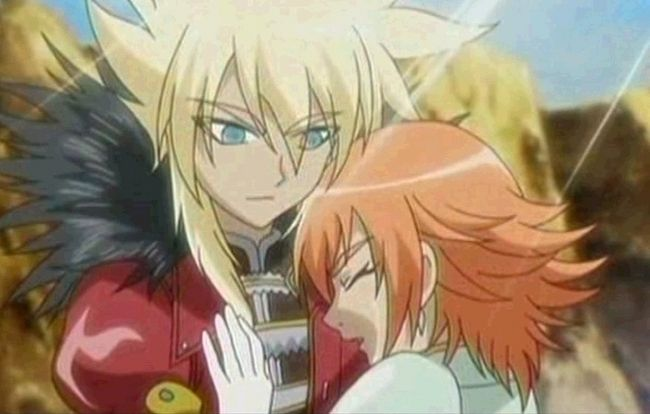 Bakugan Shun And Alice Hug