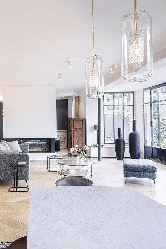 Maison Ile-de-France  rénovation avec extension Pinterest
