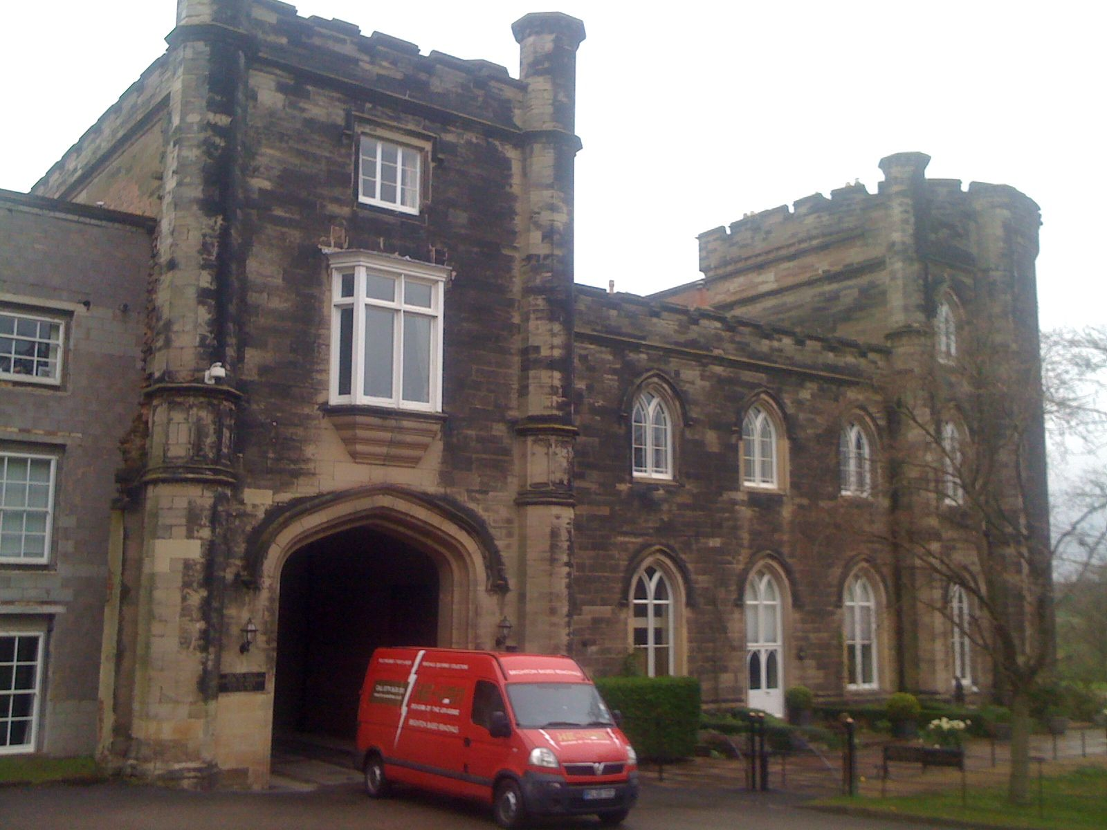 Bretby Hall Bretby UK With He Van Removals Brighton HeVan - Cool cars bretby