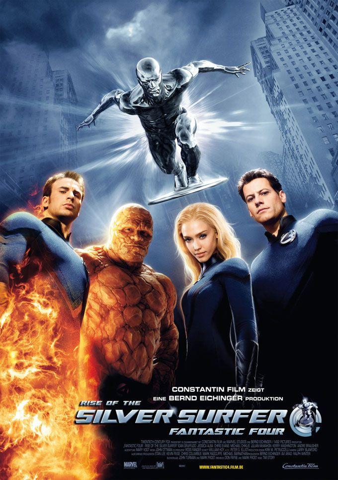Les 4 Fantastique 2005 : fantastique, Fantastiques, Surfer, D'argent, (2007), D'argent,, Surfeur,, Fantastique