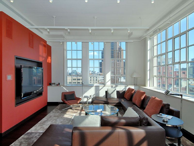 SEE THIS HOUSE: LIVING LARGE WITH LOTS OF WINDOWS IN$12.95 MILLION NYC LOFT Part 93