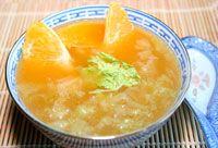 Kínai kel- narancs leves